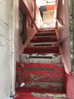 Stairs Down From Tower