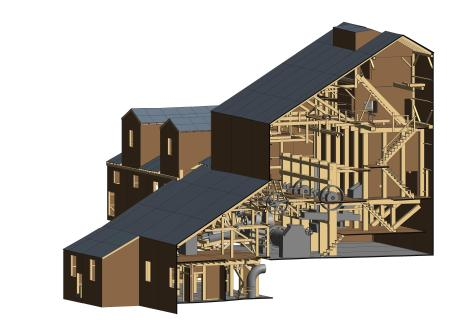 Paris Mill Revit Images - 3D View - Z01-3D Copy 1