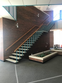 Staircase in the Library