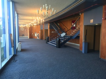 Lobby of the Theater