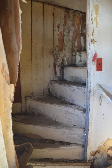 Interior Stair - Stagecoach Hotel 2015